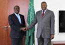 Rencontre avec l'Ambassadeur Albert Muchanga