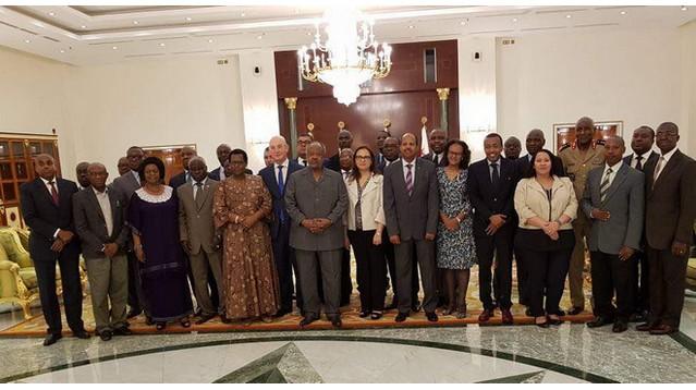 le CPS reçu en Djibouti